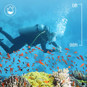 Flashandfocus.com 109d97fc-6ce0-429f-b142-e2516d0af936.__CR0,0,300,300_PT0_SX300_V1___ AKASO EK7000 4K30FPS Action Camera Ultra HD Underwater Camera 170 Degree Wide Angle 98FT Waterproof Camera