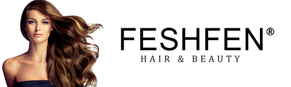 FESHFEN Clip in Hair Extensions Long Curly Synthetic Thick Hair Extension Wavy Hairpiece for Women