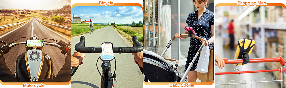 phone holder for bike  motorcycle phone mount
