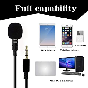 lapel mic for smartphone