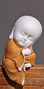 meditator orange