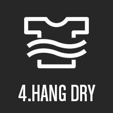 hang dry
