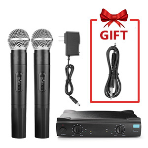 singing machine Portable wireless microphone system