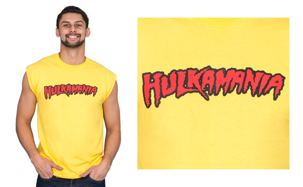 hulk hogan sleeveless shirt