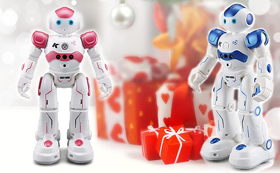 robot toy great gift for kids birthday gift present programmable robot indoor toy