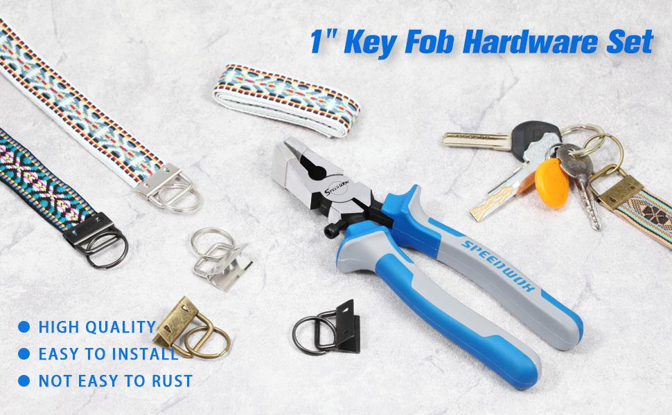 "1"" Key Fob Hardware Set"