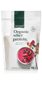 natural force bulk unflavored organic whey protein