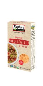 Red Lentil Risoni