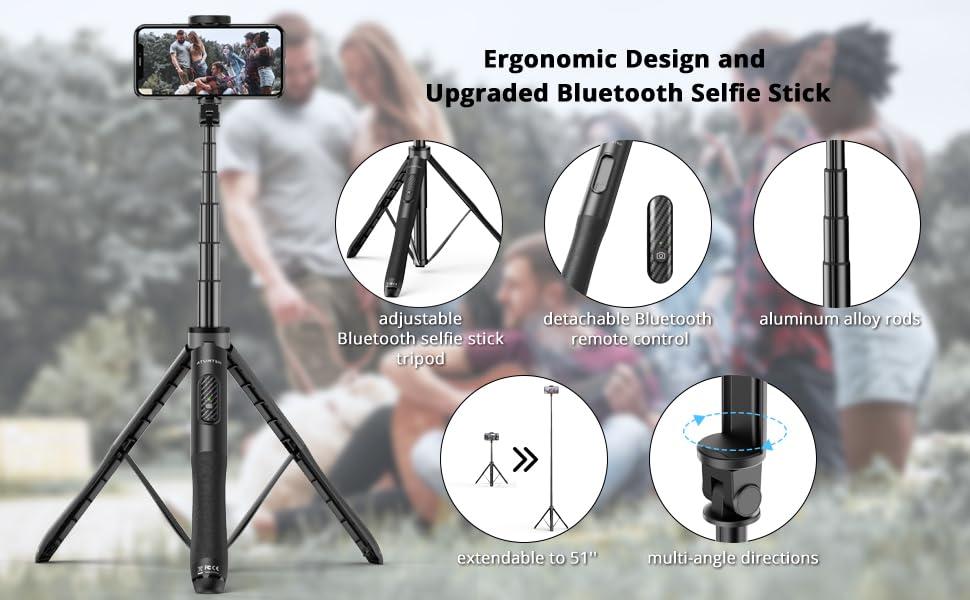ATUMTEK Selfie Stick ATSS052