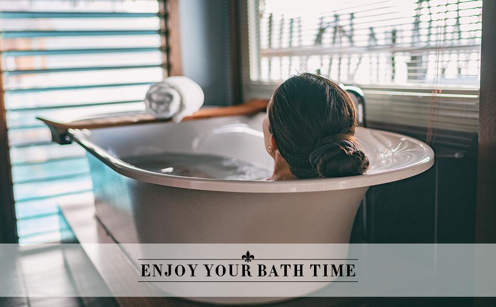 enjoy your bath time with JOBYNA bath pillow