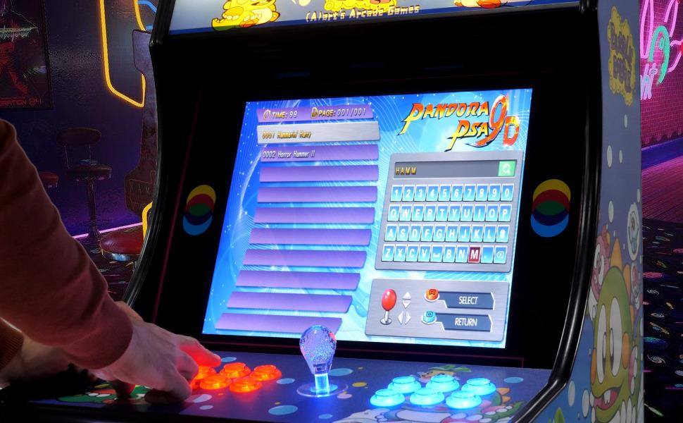pandora box, bartop, maquina recreativa, consola retro, arcade, neogeo, sega, taito, cps2, joystick