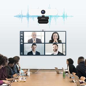 webcam Dual Noise Reduction Mic