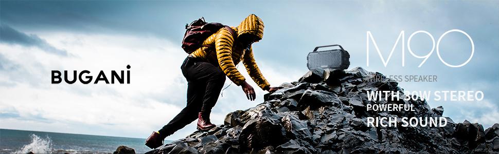 Outdoor mountain climbing speaker
