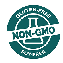 Non-GMO, Gluten-Free and Soy-Free