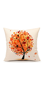 thanksgiving room living burlap pillowcase couch shams indoor 45 cm zippers