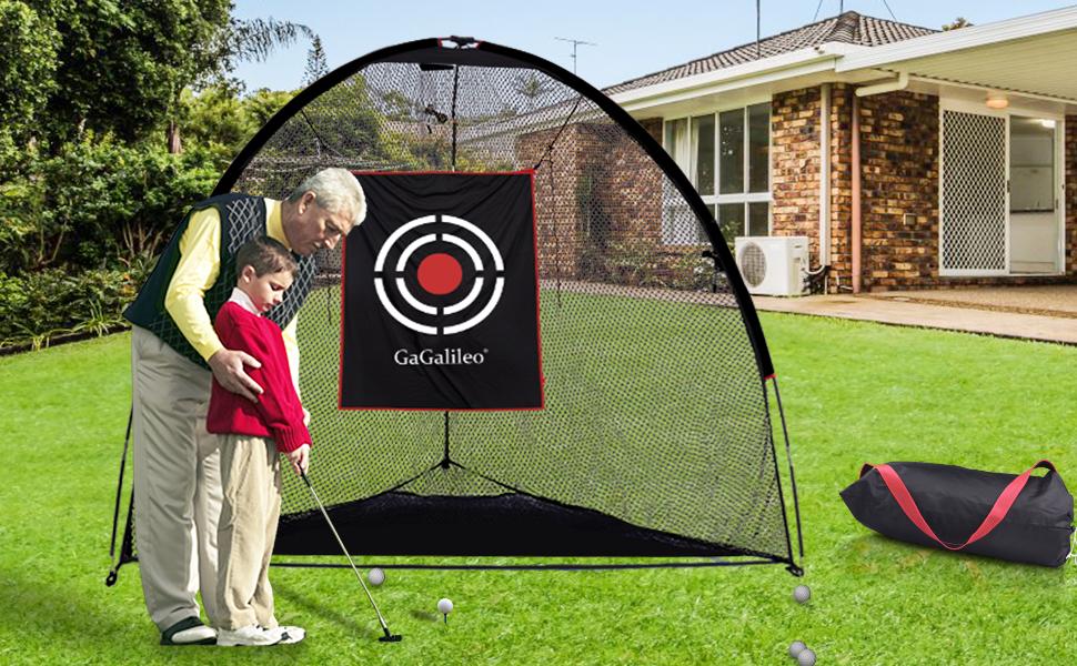 Galileo Sports Golf Net 8x7x7ft