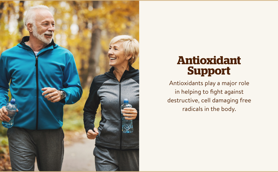 Zinc exerts antioxidant activity and can support a healthy immune system