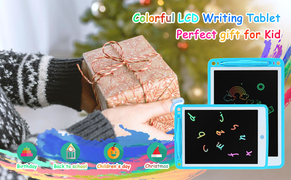 colorful LCD writing drawing tablets perfect gift for kids