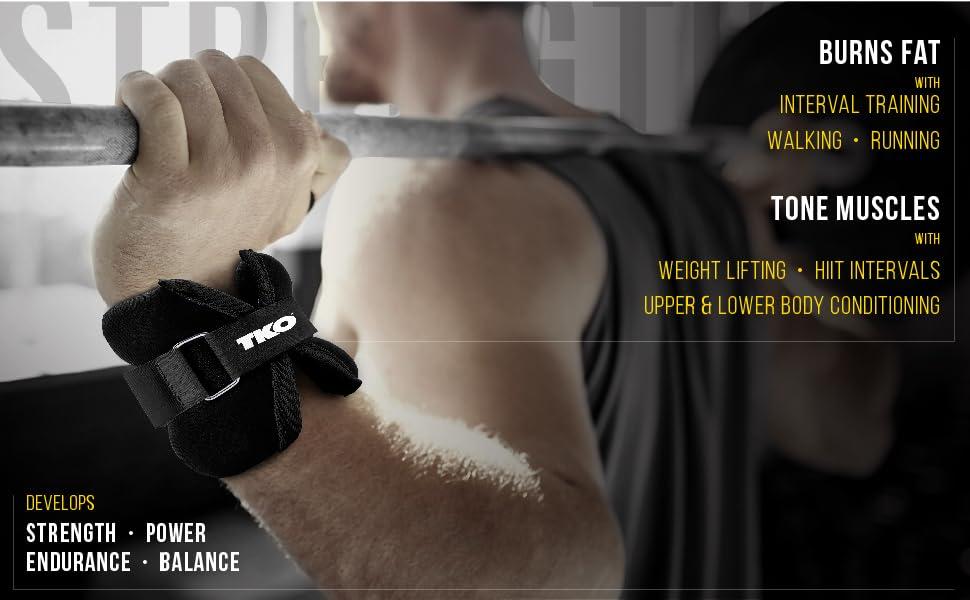 Universal Ankle Weights Leg Exercise Bracelets Running Training Fitness Straps