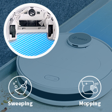 2 in 1 Sweeping & Mopping