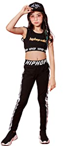 girls hip hop costume