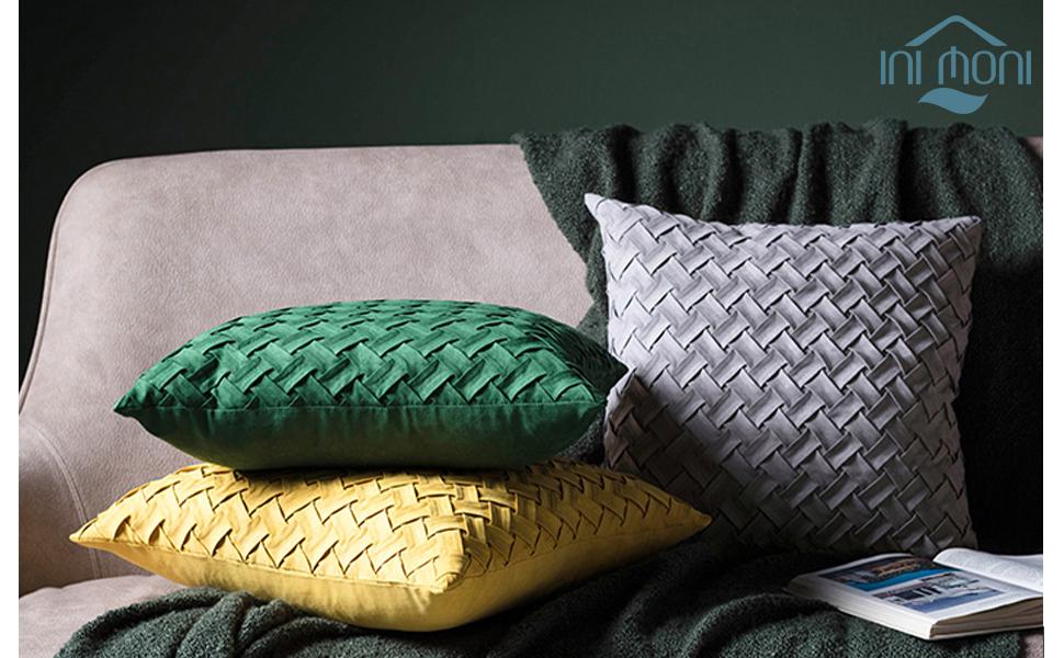 yellow pillowcase