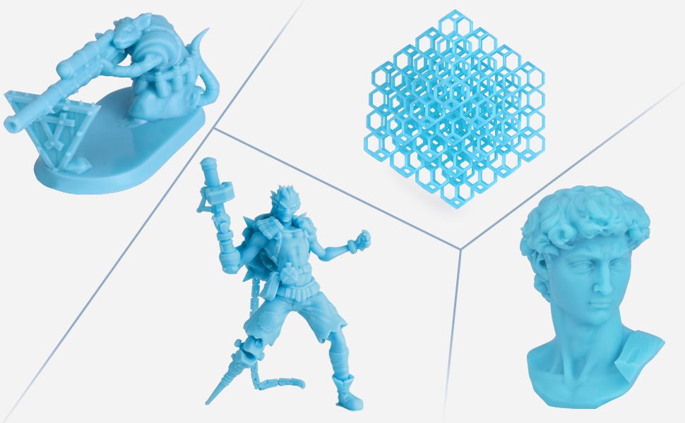 ELEGOO LCD UV 405nm 3D Resina Rápida para LCD Impresora 3D 500g ...