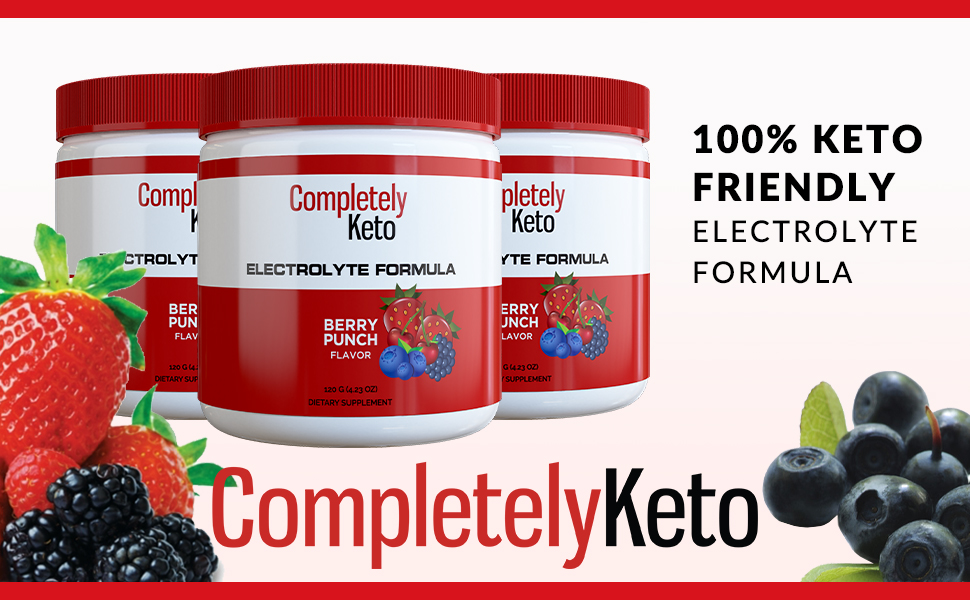 berry punch flavor electrolyte powder drink