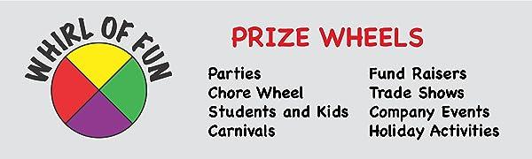 Prize wheels fun header