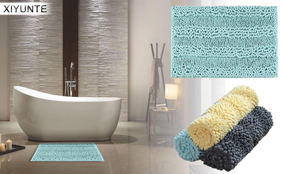 XIYUNTE Bath Mat Non Slip