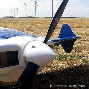 XOAR Beechwood PJN 15x4 RC Model Propeller 15 Inch Wood Prop