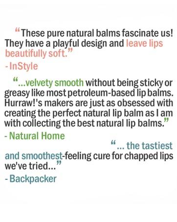Organic Vegan Cruelty Free No GMO Gluten Free All Natural Luxury Lip Balm Chapstick