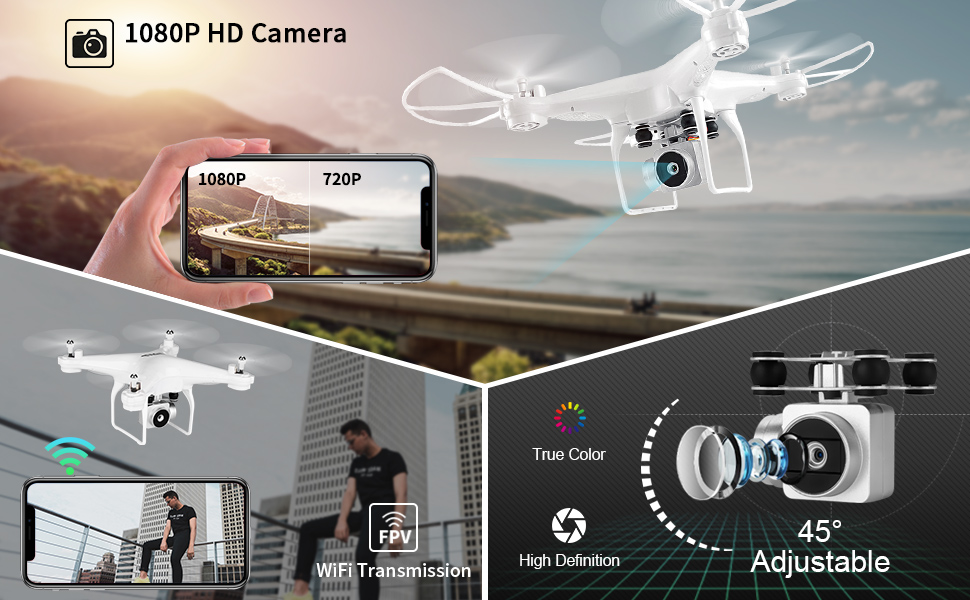 Camera of the rc drone