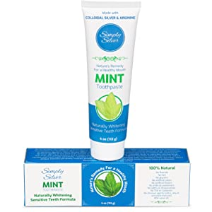 Simply Silver Mint Toothpaste