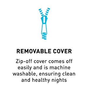 removable cover, washable cover