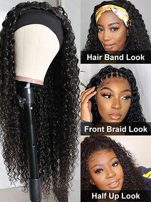 curly human hair bundles lace front wigs human hair bob