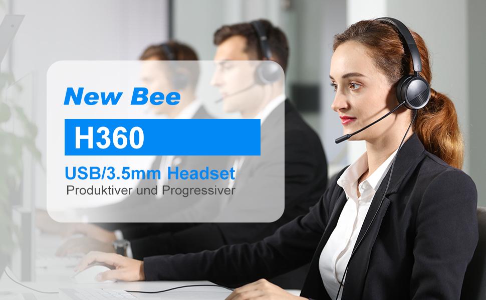 new bee headset PC