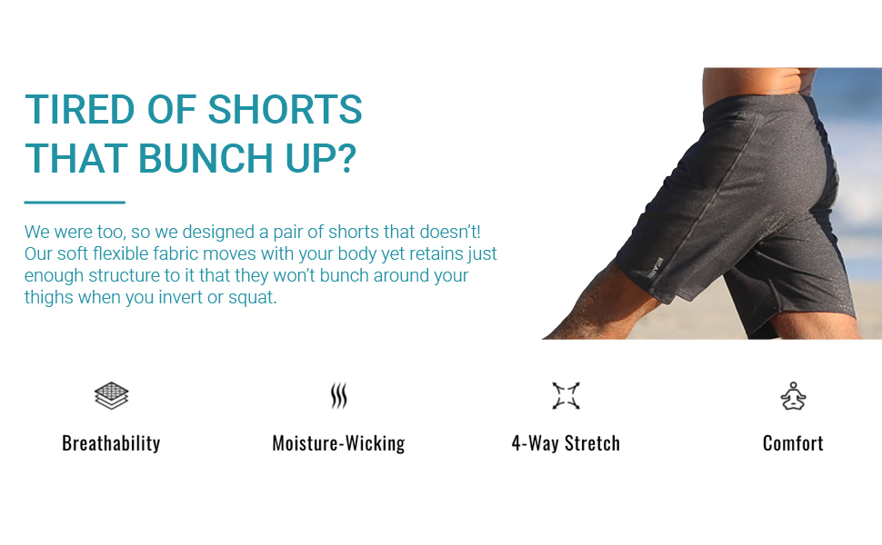 Tired of Shorts that Bunch Up?