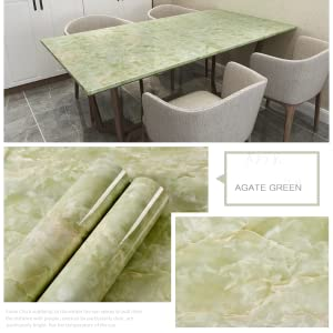 GREEN MARBLE WALL PAPER