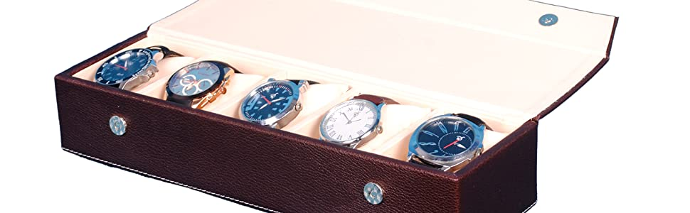 Hard Craft Watch box with sample watch