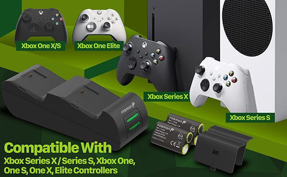 Compatible with Xbox Series X/S (2020 Version), Xbox One / One S / One S Battlefield / One X / Elite