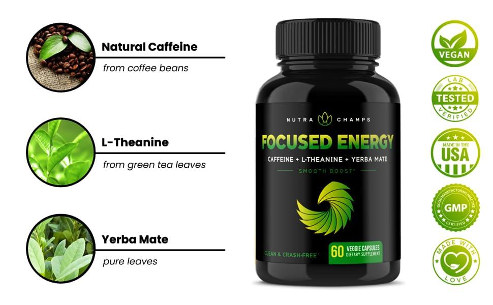 caffeine with ltheanine supplement
