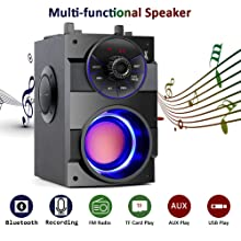 Multi-functional speaker