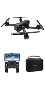 Flashandfocus.com 1125a075-7bba-4e10-a11c-6f66a7ccd498.__CR0,0,150,300_PT0_SX150_V1___ Contixo F30 Drone for Kids & Adults WiFi 4K UHD Camera and GPS, FPV Quadcopter for Beginners, Foldable mini drone…