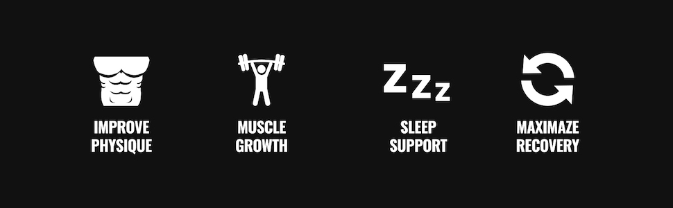 Improves Physique, Boosts Muscle Growth, Supports Sleep, and Maximizes