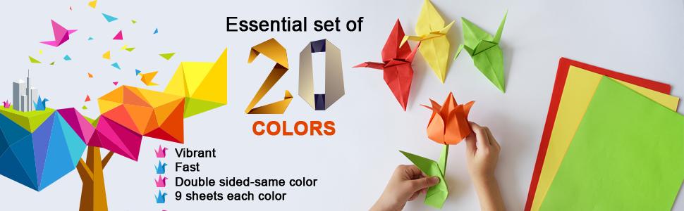 color paper for kids craft 60%