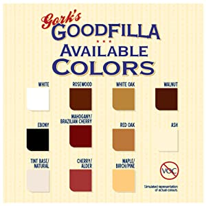 goodfilla wood filler cabinet upcycle paint powder filla bag woodfiller door refinish finish putty
