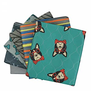 rocket and rex washable and reusable dog pee pads save money and reduce waste compared to disposable