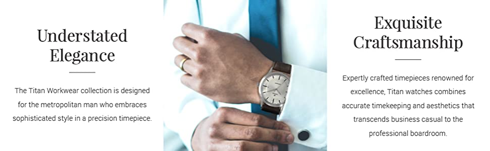 Workwear Men's Designer Dress Watch