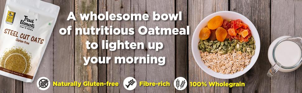 true elements steel cut oats